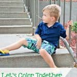 Let's Color Together with Gymboree