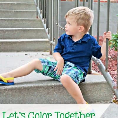 Let's Color Together with Gymboree + Giveaway
