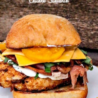 Panko French Onion Chicken Sandwich
