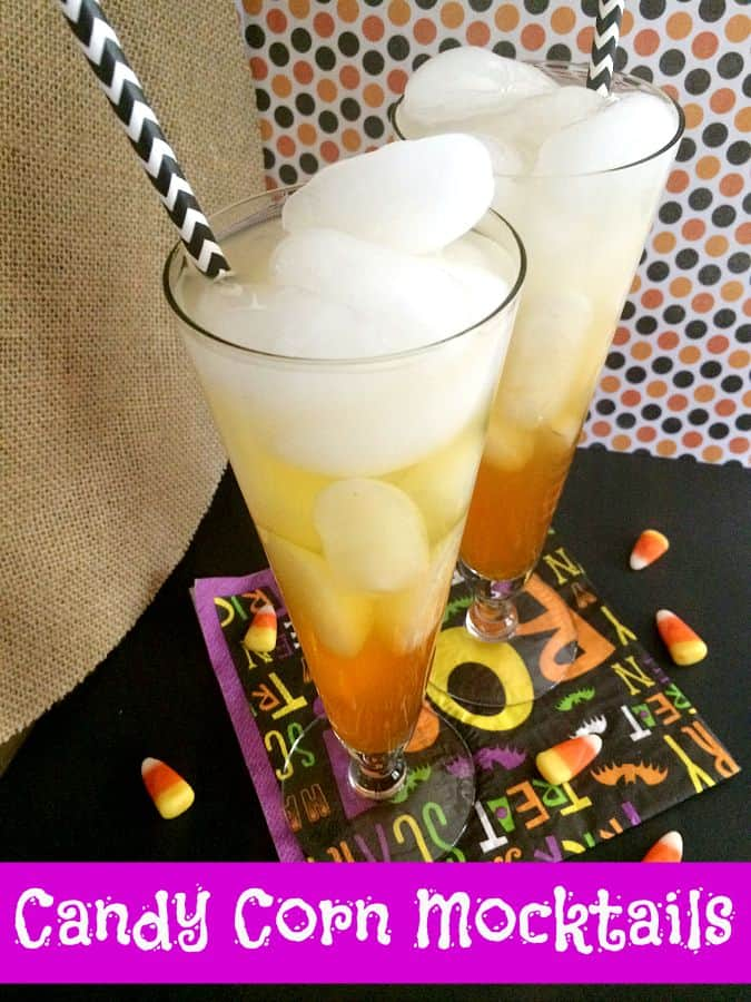 candy corn mocktail recipe