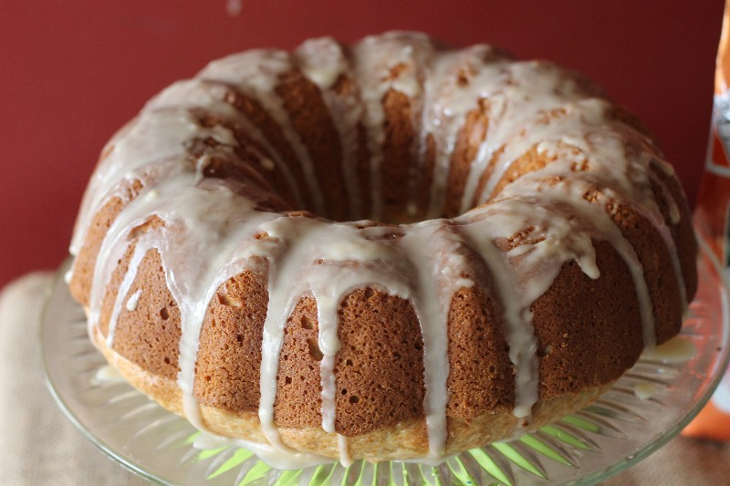 coffee glazed coffee cake bundt
