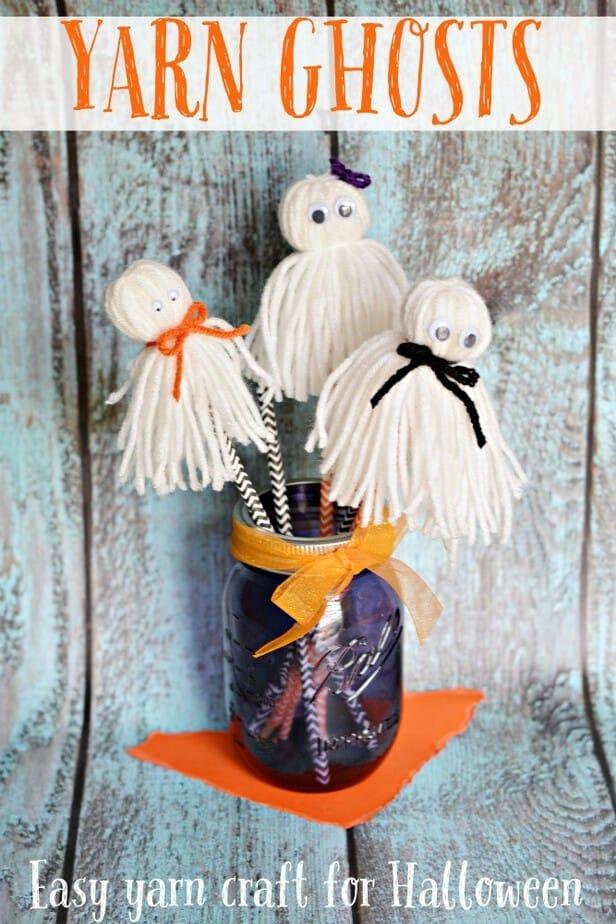 easy-yarn-craft-yarn-ghosts