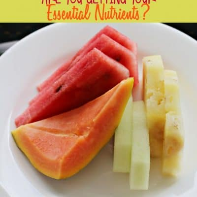 Are You Getting Your Essential Nutrients Every Day? #CentrumVitamints