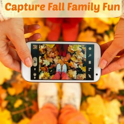 Capturing fall family fun memories