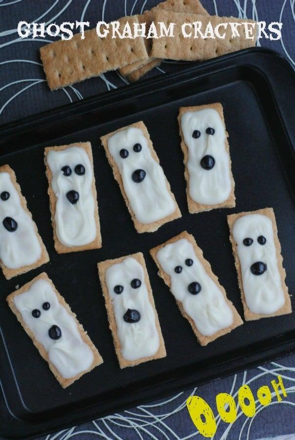 ghost graham crackers label