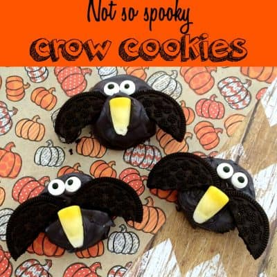 Chocolate Covered Crow Cookies