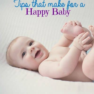 Tips that Make for a Happy Baby