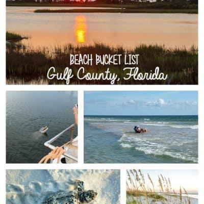 Beach Bucket List- Gulf County Adventures