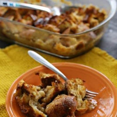 Vanilla Maple French Toast Casserole