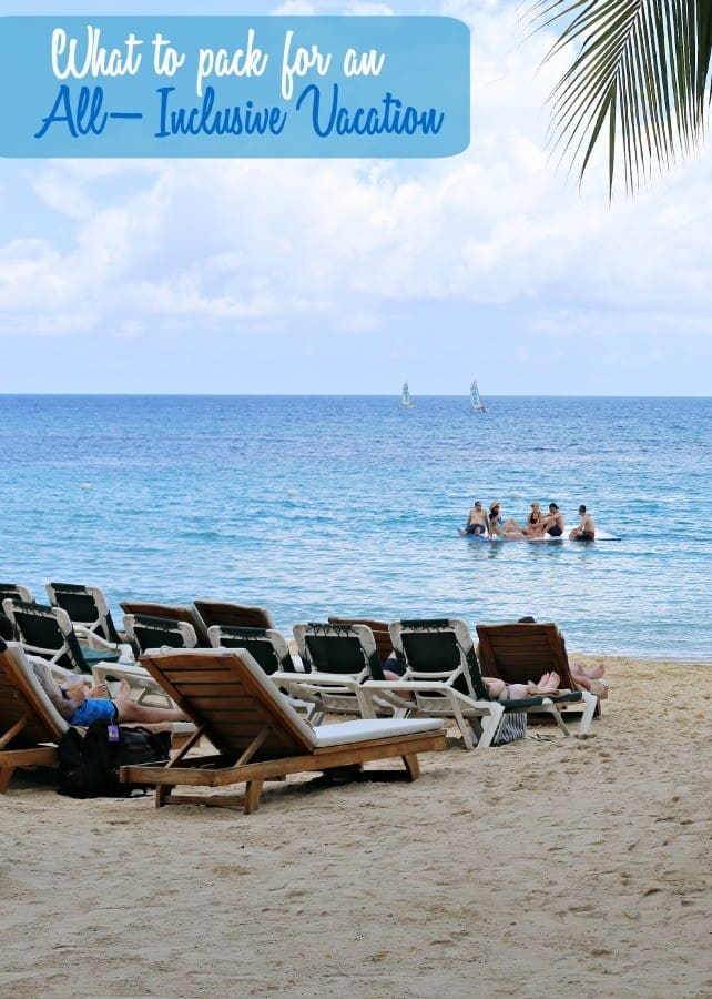 what-to-pack-all-inclusive-vacation-label
