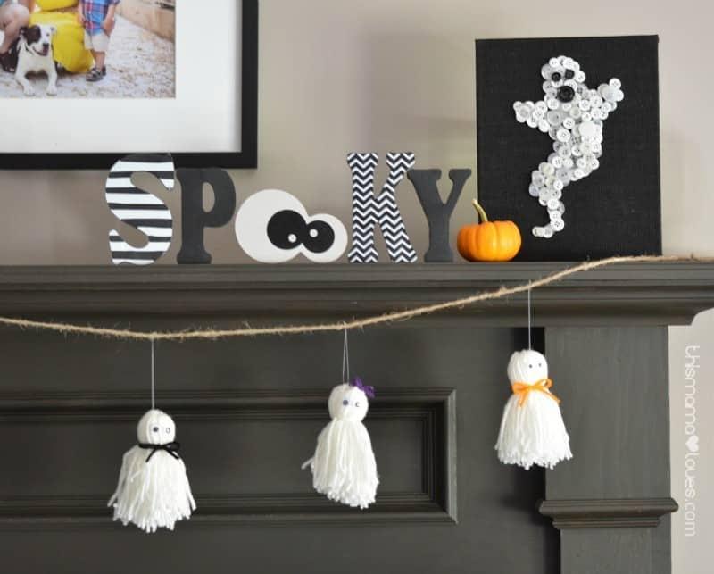 yarn-craft-ghost-garland
