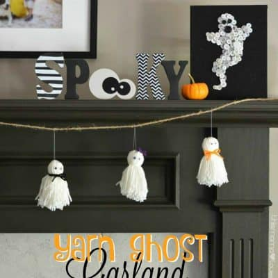 Yarn Ghost Garland