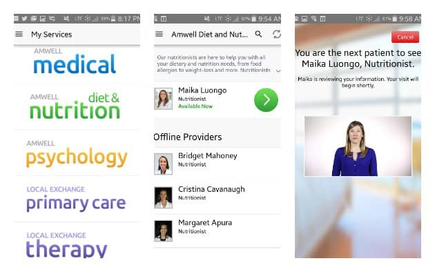 Online Doctor Visit #MOMSLOVEAMWELL collage
