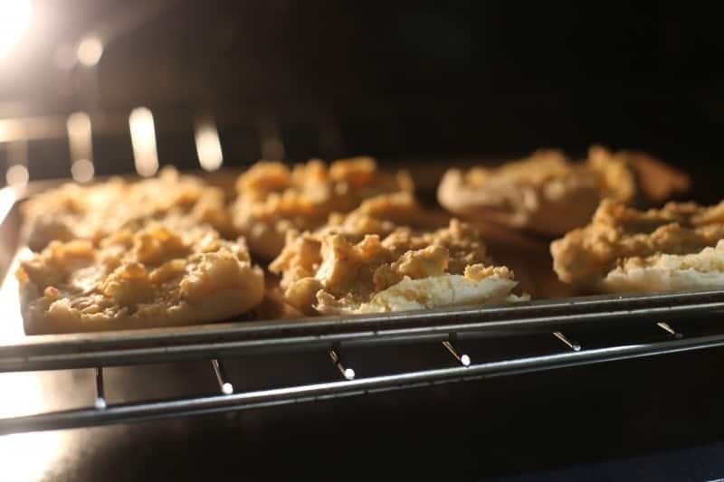 crabbies in oven