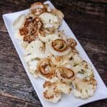 Pan Roasted Cauliflower with Seared Sweet Onion label