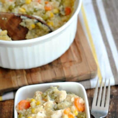 Chicken Quinoa Casserole Recipe: Shop the Pantry
