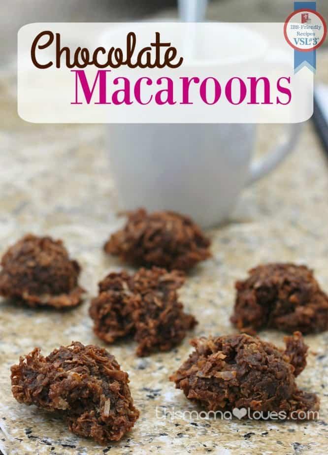chocolate-macaroons-recipe-label