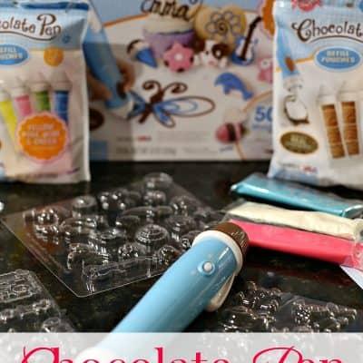 Chocolate Pen- Gift idea for creative tweens