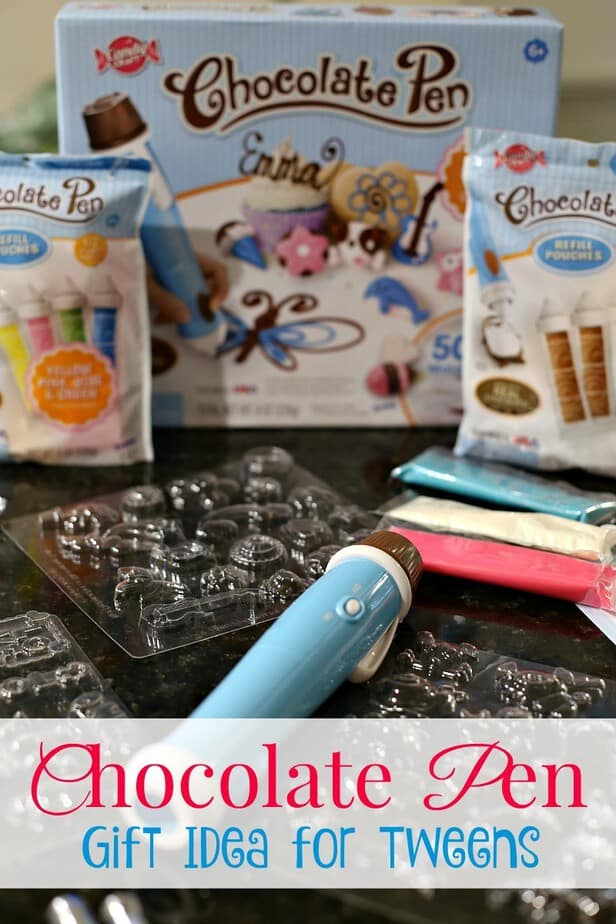 Toys For Creative Tweens : Chocolate pen gift idea for creative tweens