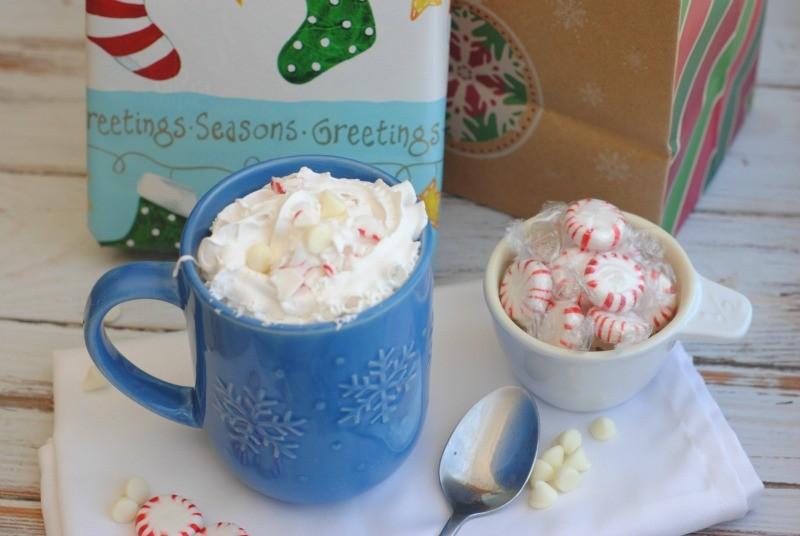 christmas morning coffee drink 1