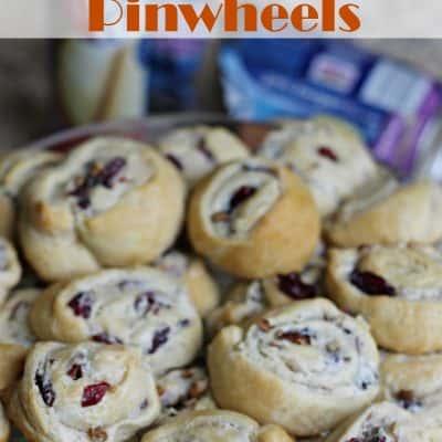 Cranberry Pecan Pinwheels