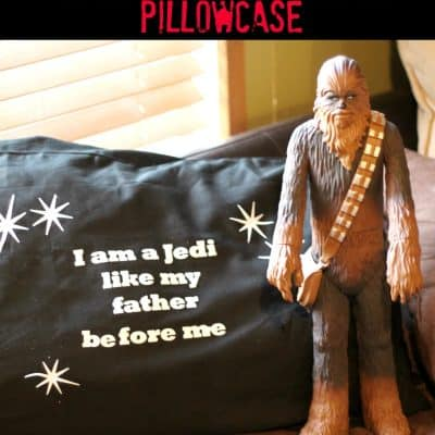 Star Wars Craft: Personalized Pillowcase