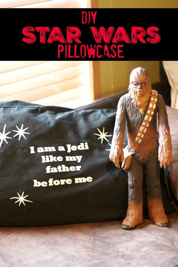 Star Wars Craft Personalized Pillowcase