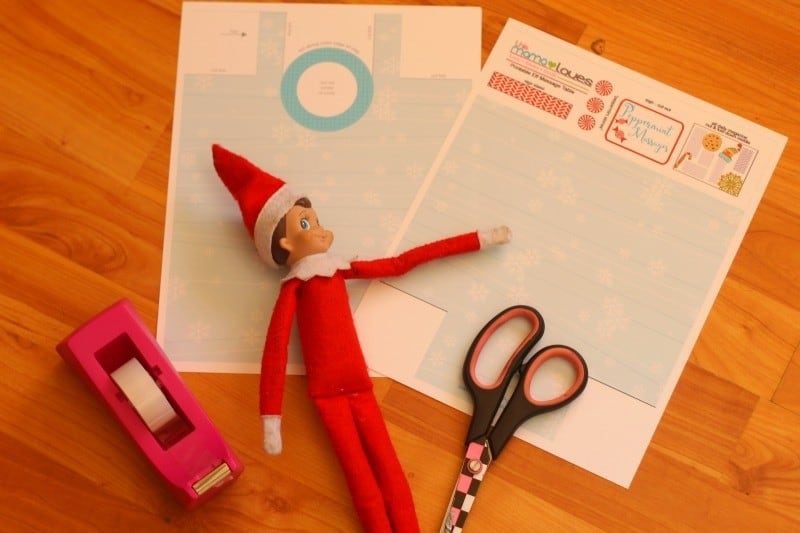elf on a shelf massage supplies