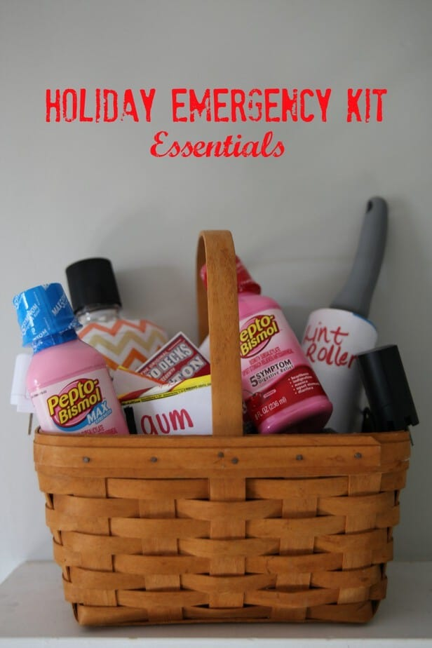 holiday-emergency-kit-essentials-label-avoid-holiday-disaster