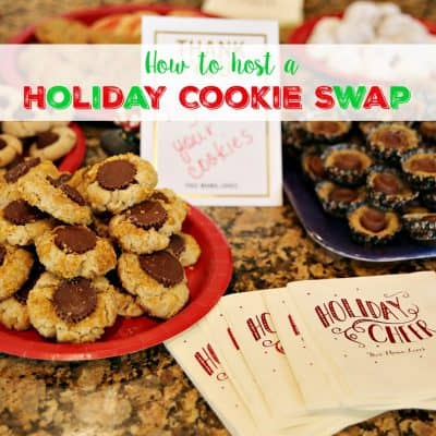 How to host a holiday cookie swap they won't forget!
