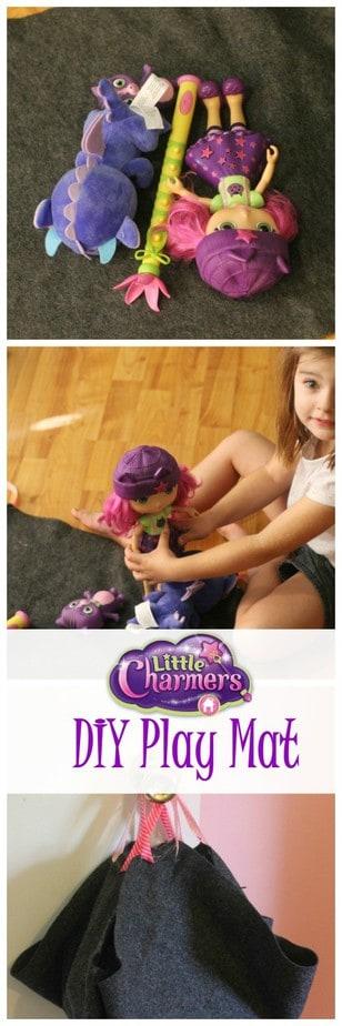 little charmers craft diy play mat