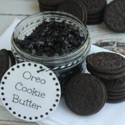 Oreo Cookie Butter