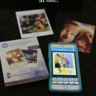 Printing Social Media Photos at Home