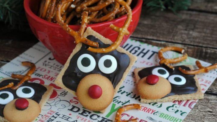 Graham Cracker Reindeer Semi-Homemade Festive Treats