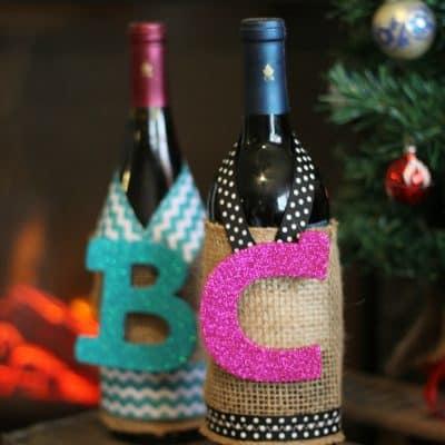 Simple DIY Wine Sleeve