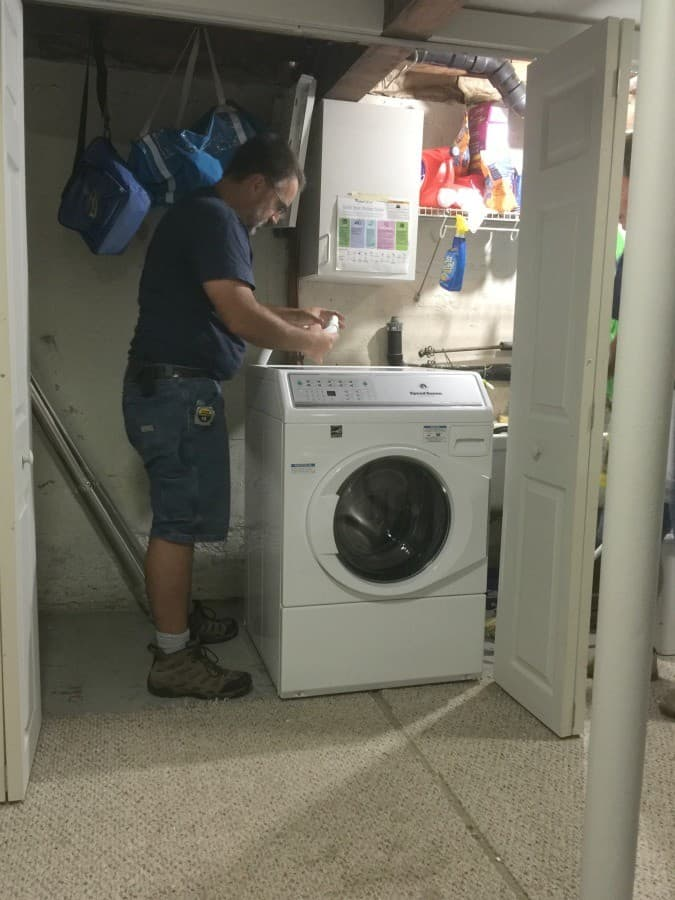 washer-install-portland-electric