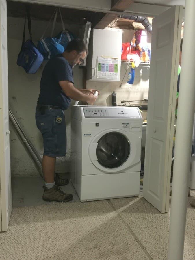washer-install-portland-electric