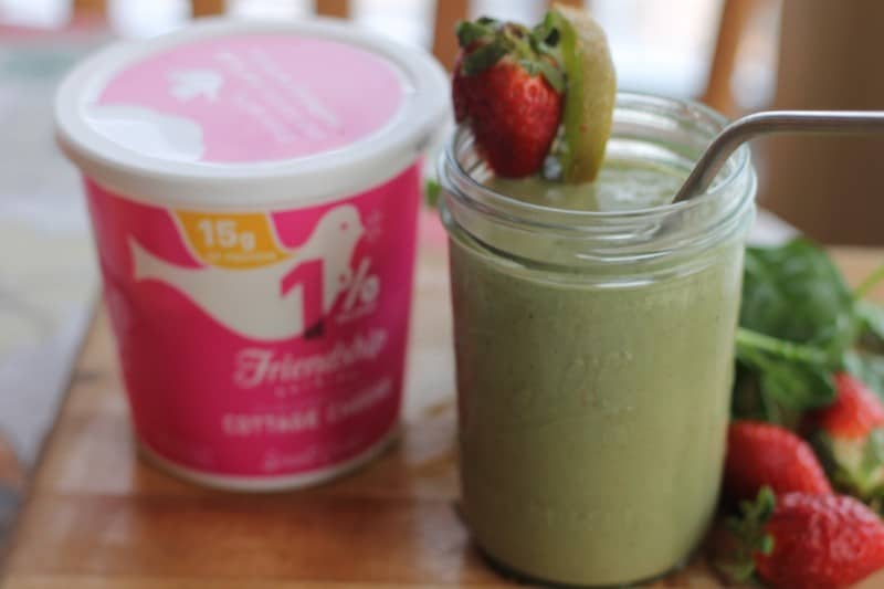 kiwi-strawberry-spinach-smoothie-recipe-cottage-cheese