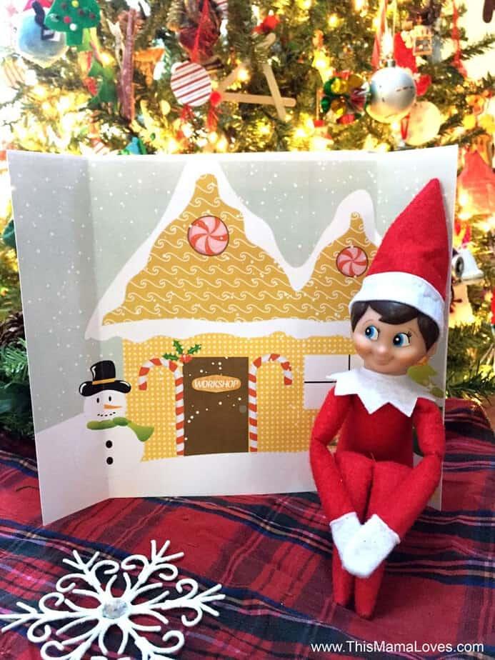 Super Simple Elf On The Shelf Ideas Backdrops
