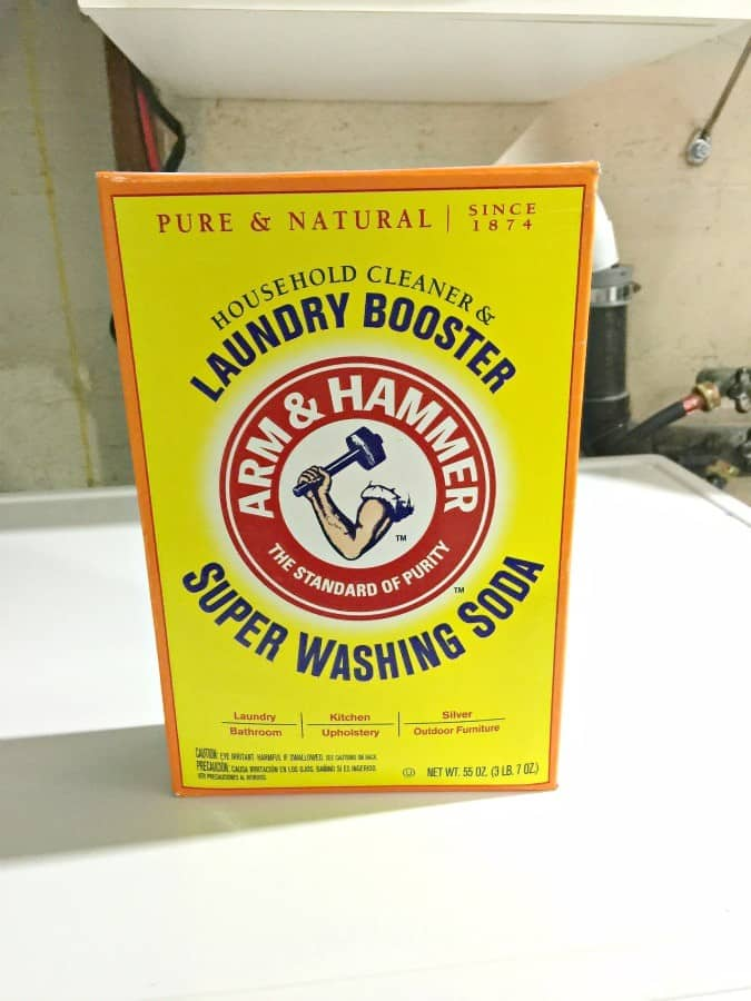 arm and hammer for washing laundry