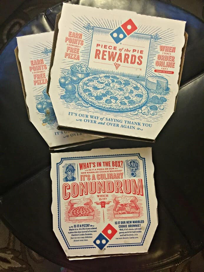 dominos new years