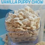 norm of the north movie inspired vanilla puppy chow mix recipe