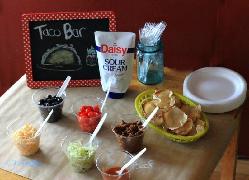 taco bar side