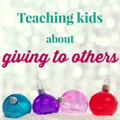 Giving to others together with Caboodles