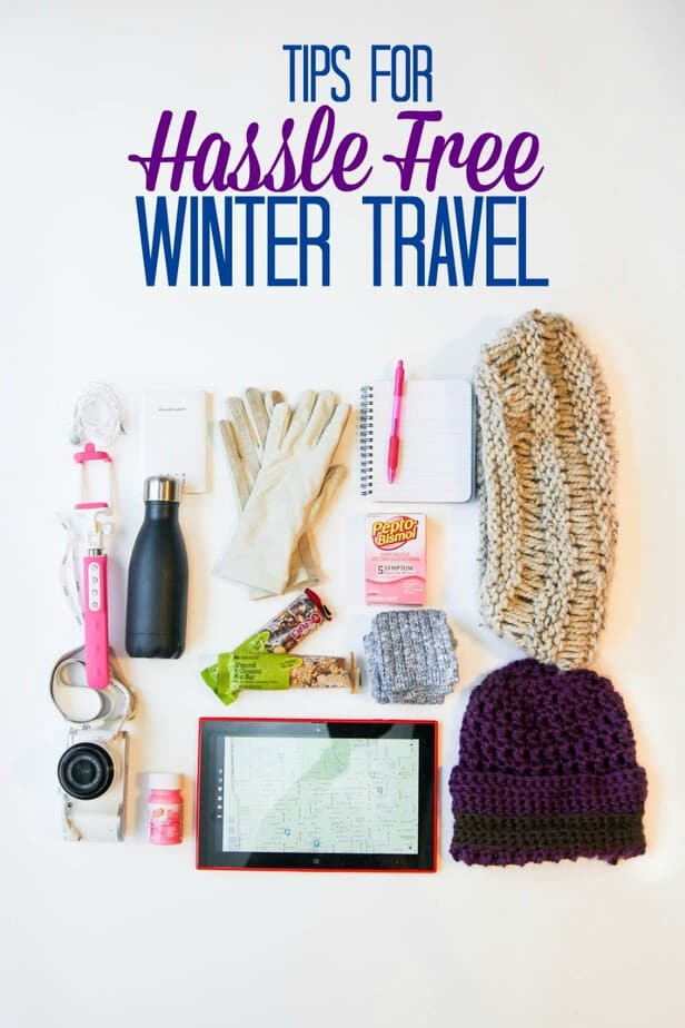 Tips for hassle free winter travel- This Mama Loves