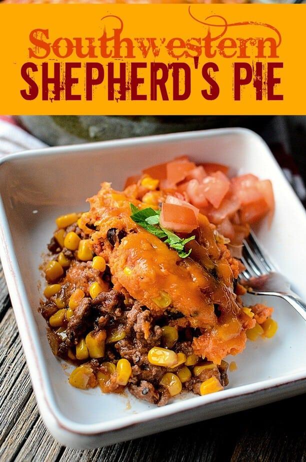 Southwestern Shepherd's Pie Recipe- This Mama Loves