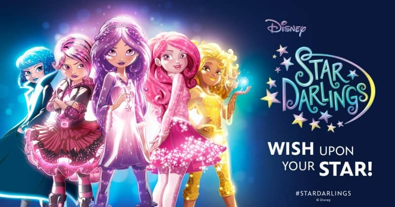 Disney Star Darlings- the tales of 12 Star-Charmed Starlings who work together to make wishes come true