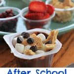 After school snack idea- pudding bar- This Mama Loves