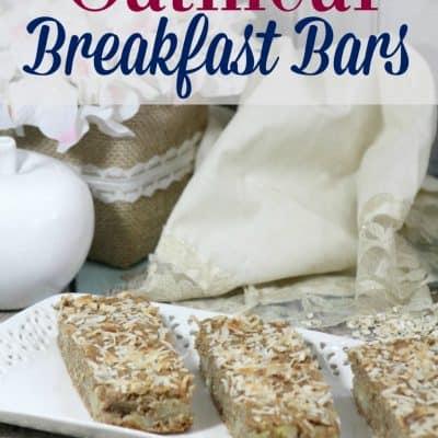 Easy Oatmeal Breakfast Bars Recipe: Make and Take