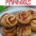 Pizza Crescent Pinwheels- This Mama Loves